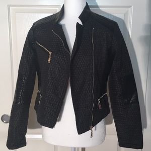 Quilted Motorcycle Jacket